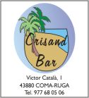 Crisand bar